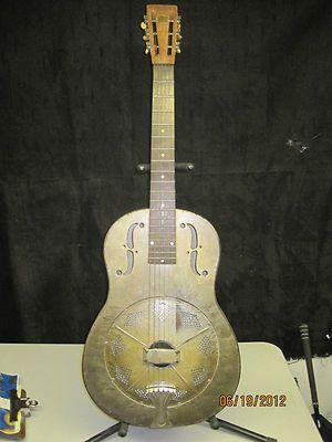 1930 S National Duolian Metal Body Resonator Guitar Resonator Guitar Lap Steel Guitar Steel Guitar