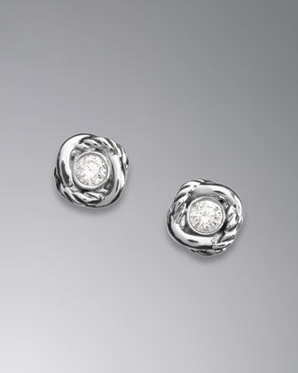 716e638007da1 Zoom + David Yurman Infinity Earrings with Diamonds