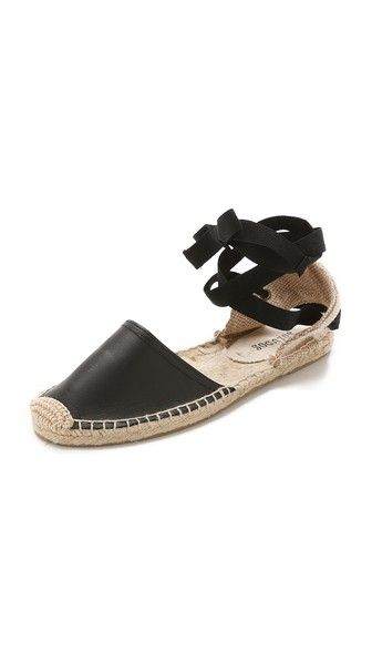 Soludos Leather Espadrille Sandals are perfect for your next getaway!