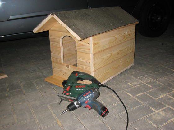 katzenhaus bauanleitung zum selber bauen selber machen. Black Bedroom Furniture Sets. Home Design Ideas