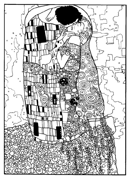 art history coloring book pages - photo#28