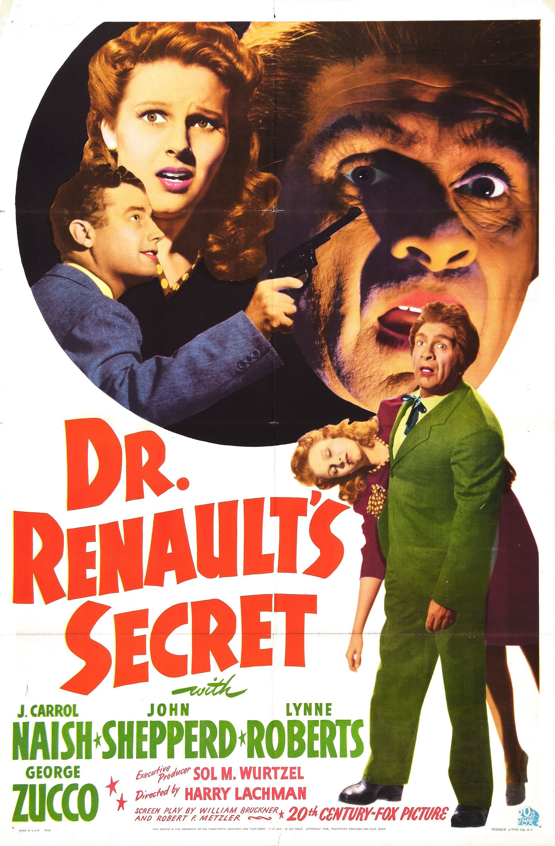 Download Dr. Renault's Secret Full-Movie Free