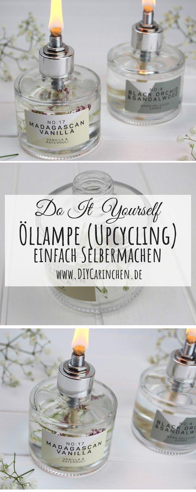 DIY - Öllampen einfach selber machen / bauen - gemütliche Gartendeko #gartendekoselbermachen