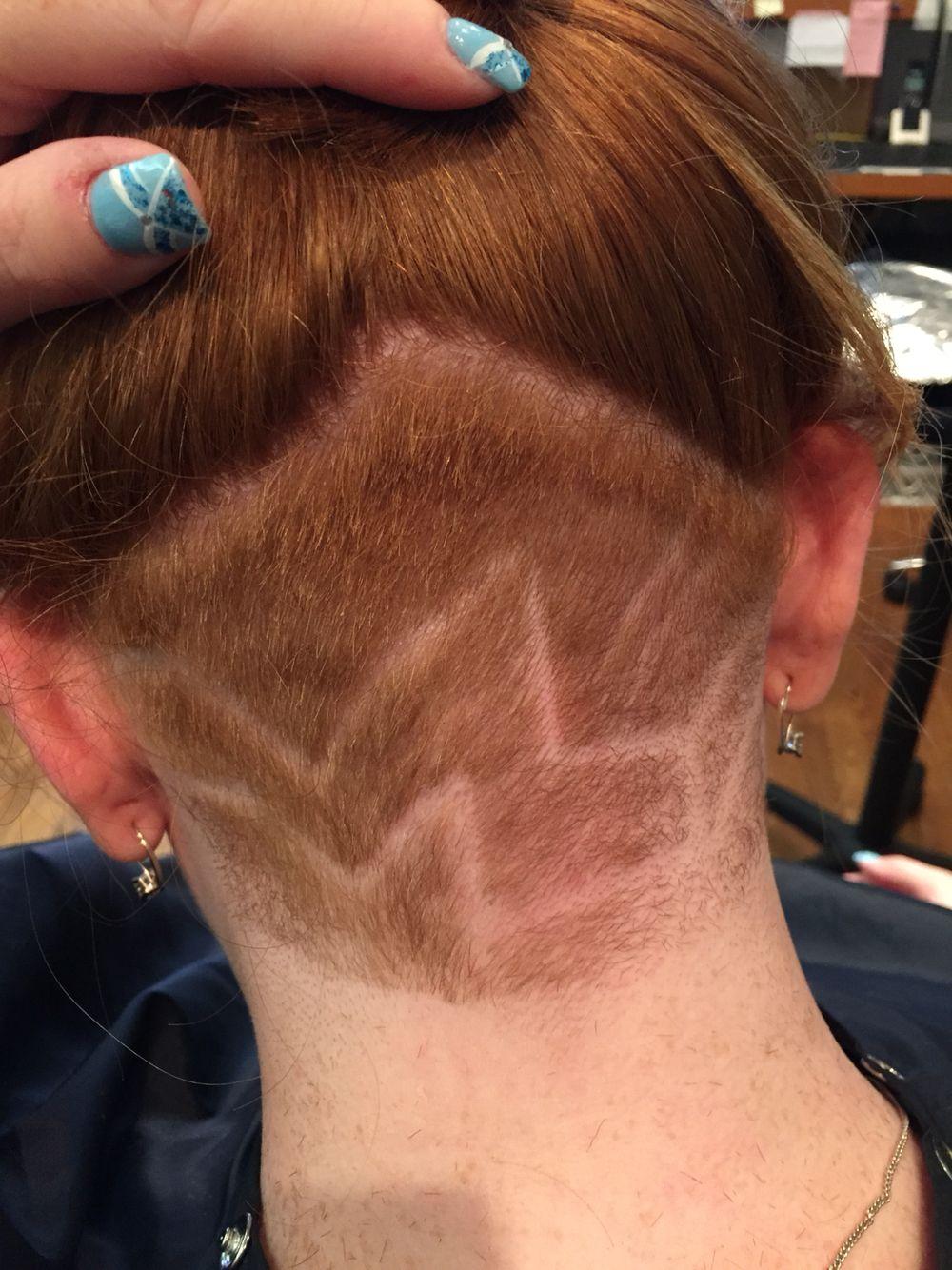 Neck Shave Design