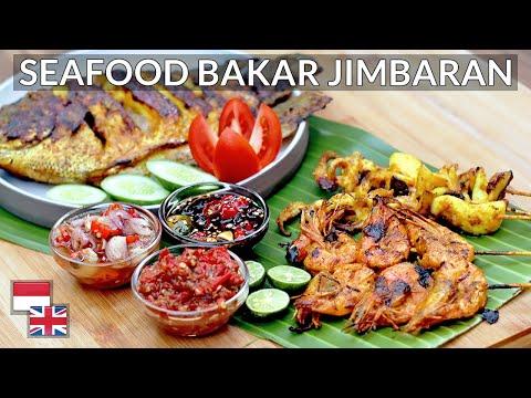 4 Resep Seafood Bakar Jimbaran Lengkap Dengan Tiga Jenis Sambal Youtube Resep Seafood Resep Ikan Bakar Resep Ikan