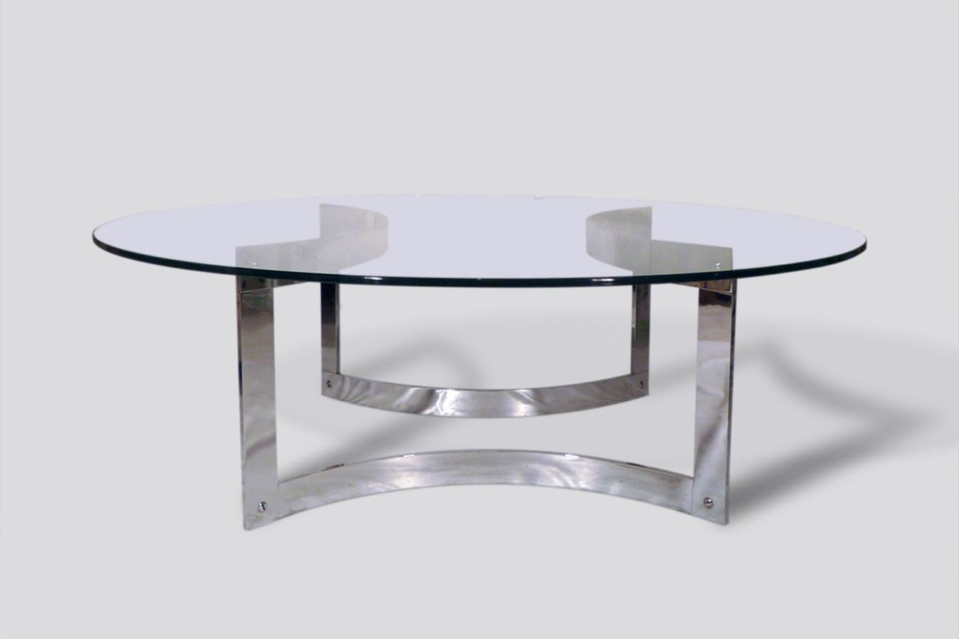 D 1 2m H38cm Round Chrome And Glass Coffee Table 1970s 1 Glass Coffee Table Coffee Table Glass Top Coffee Table [ 900 x 1350 Pixel ]