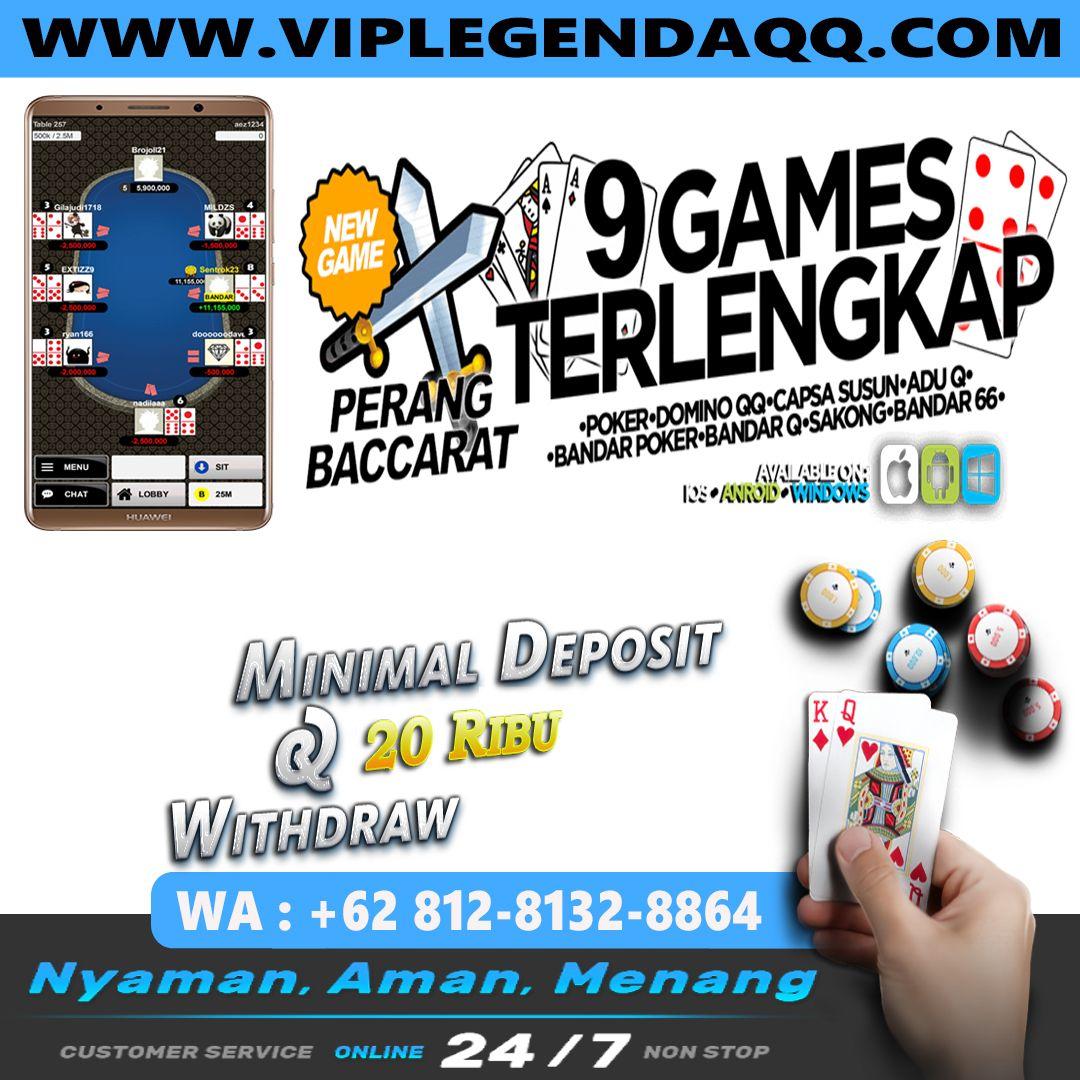 Legendaqq Situs Poker Online Terpercaya In 2020 Online Online Games Baccarat