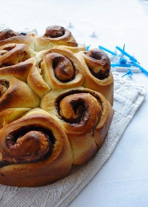 Torta delle rose crema e nutella.
