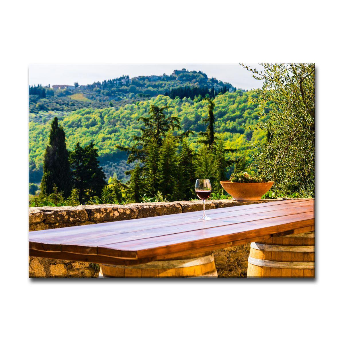 Ready2HangArt Bruce Bain 'Tuscan Landscape IX' Art