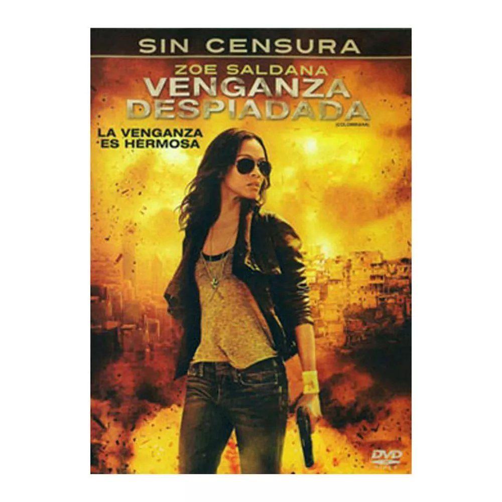 Dvd Venganza Despiadada Nuevo 100 Venganza Despiadada Titulo Original Colombiana Ano 2011 Duracion 107 Min Pais Fra Venganza Zoe Saldana Peliculas Cine
