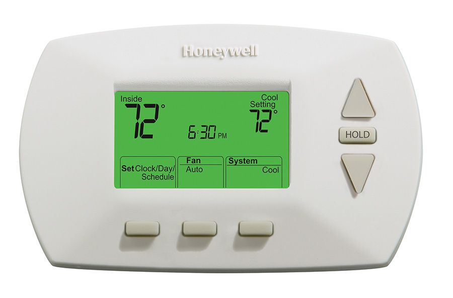 how to set honeywell thermostat temperature schedule