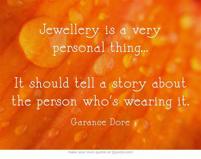 So true ... and it's the perfect way to express your personal style.