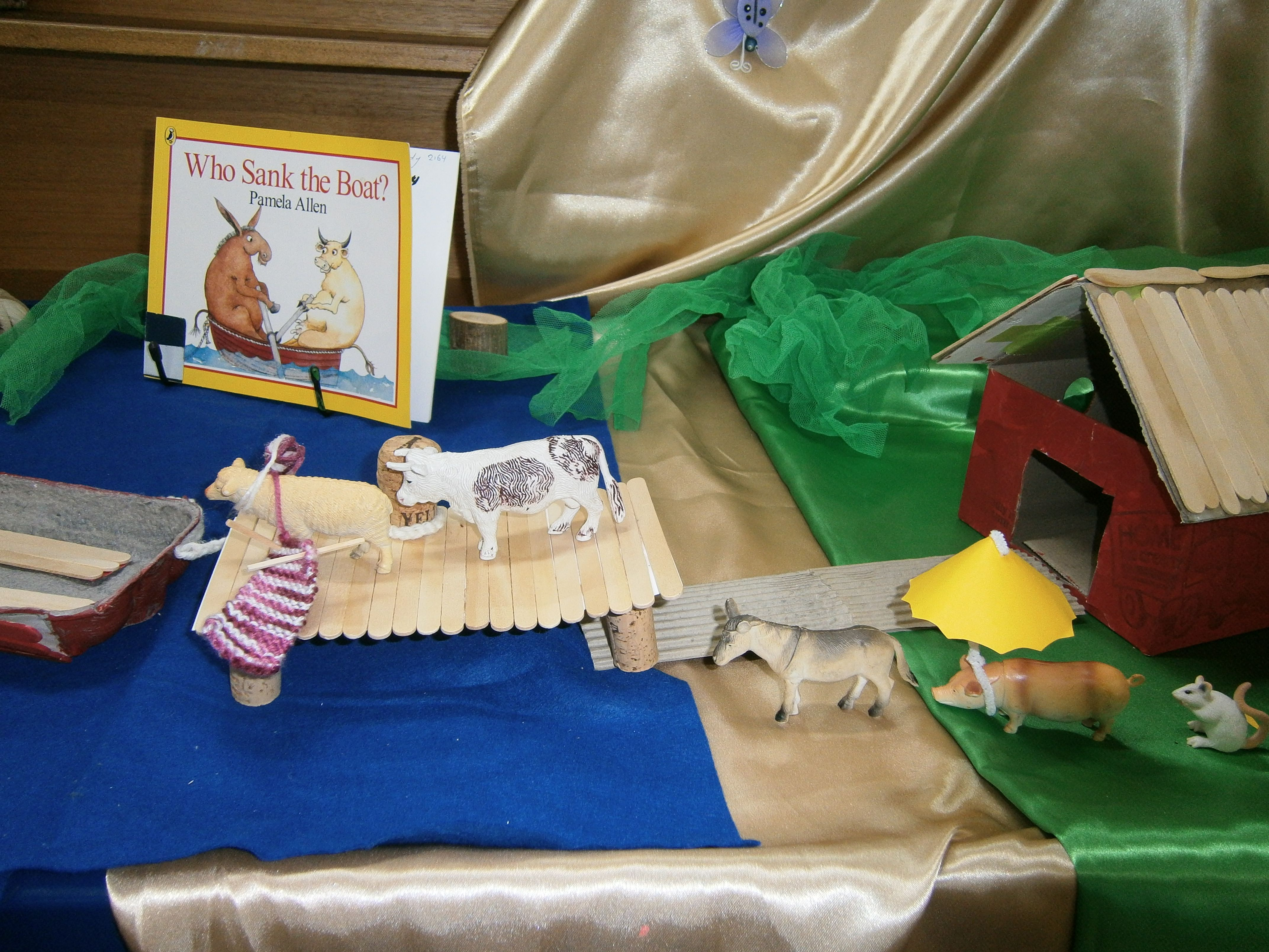 Who Sank The Boat Story Table
