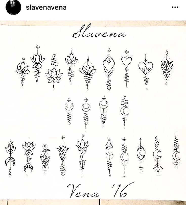 Unalome pieces by @slavenavena #aslavenavena #pieces #unalome #unalometattoo