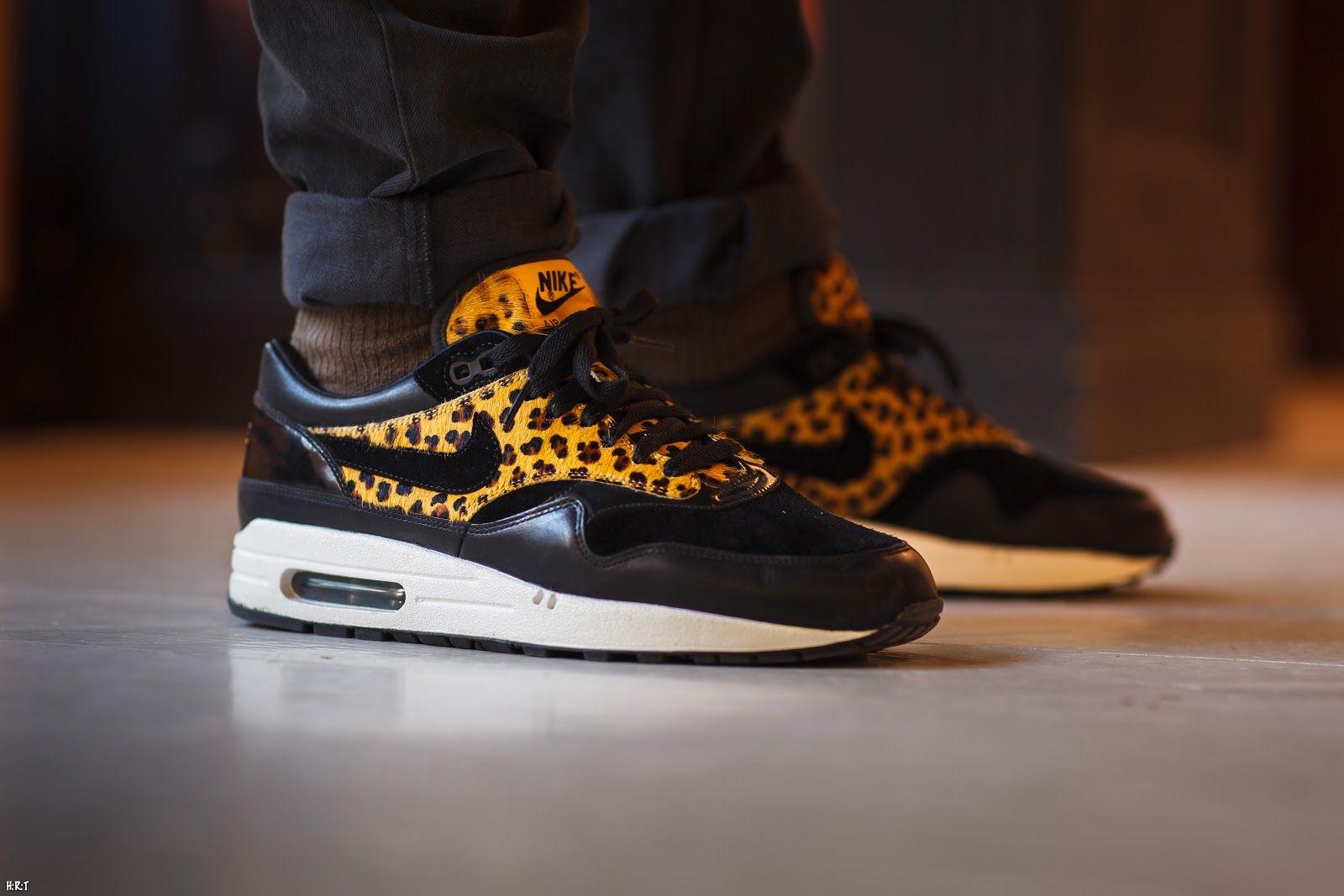 nike air leopard print trainers
