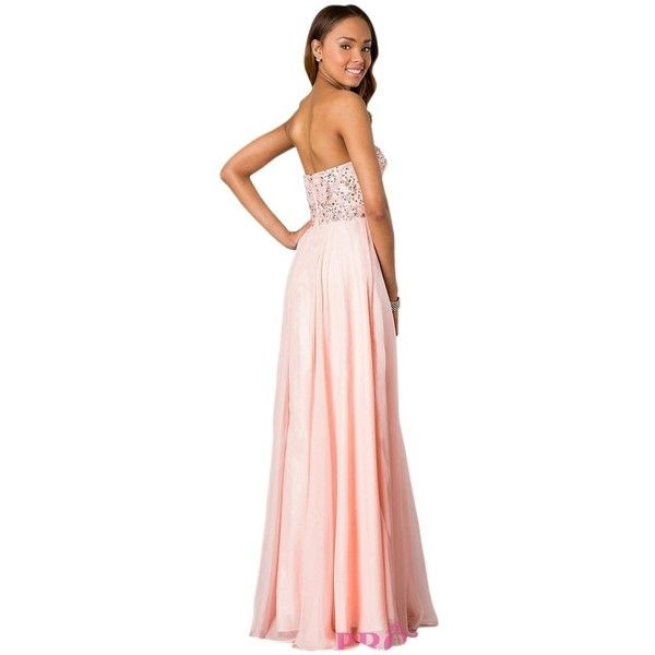 Pre-owned Alyce Paris Blush 6227 Dress ($129) ❤ liked on Polyvore ...