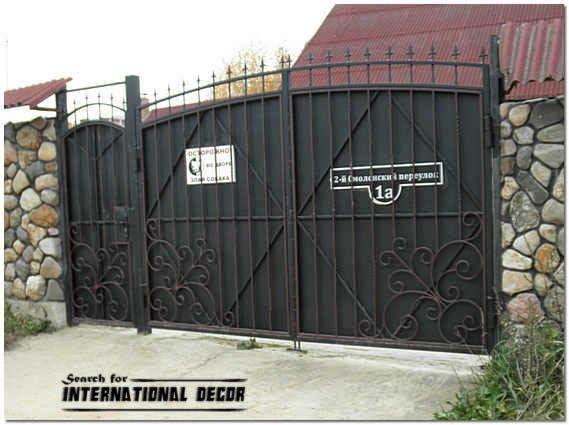 Metal Fence Gate Designs Fence Gate Design Metal Fence Gates