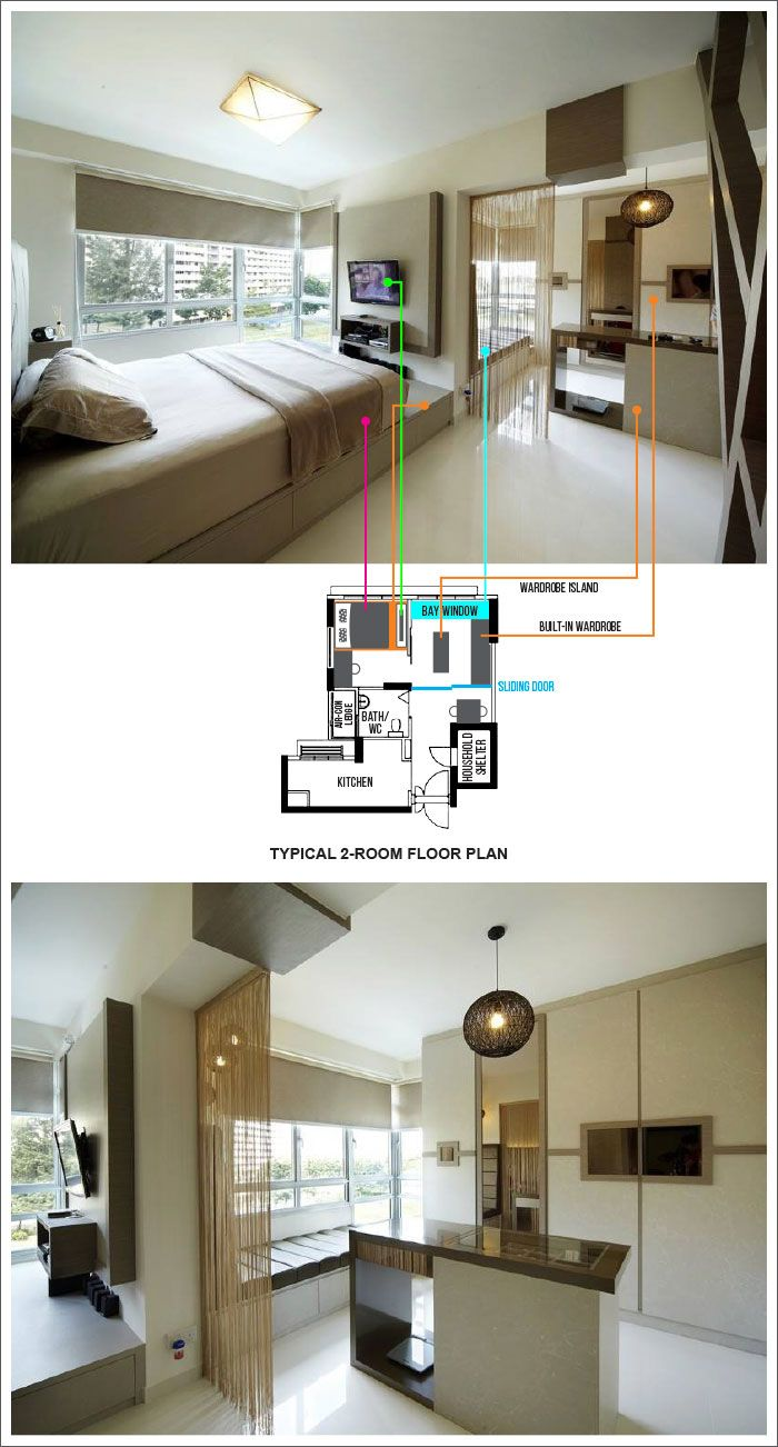 Hdb Two Room Reno: Anchorvale-Plains-BTO-09 In 2019
