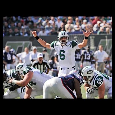 New York Jets Quarterback Mark Sanchez Canvas Art New York Jets Mark Sanchez Ny Jets