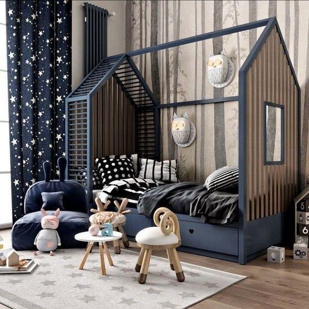 60 Affordable Kids Bedroom Design Ideas That Suitable For Kids 2 Mitakerja Com Boy Bedroom Design Kids Room Design Kids Bedroom Designs