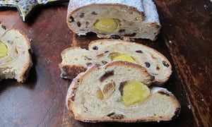 Stodgy and rich ... the perfect stollen.