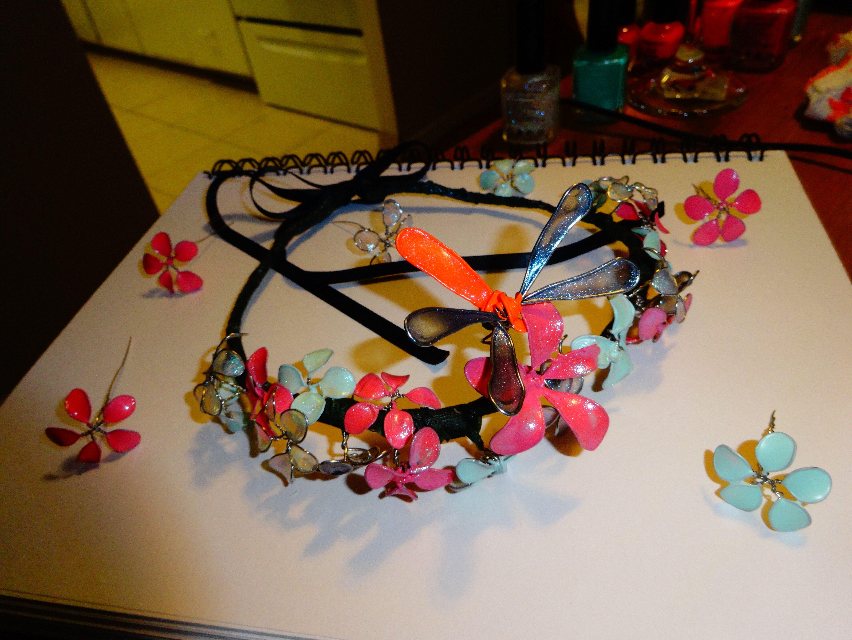 Nail Polish Flower Crown Project Imgur Diy Jewelry Schmuck