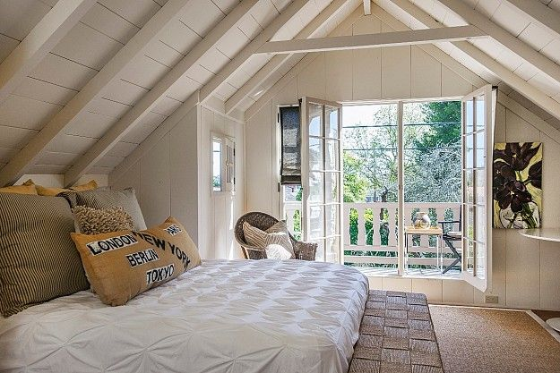 Cottages & Tiny Houses in 2020 | Attic bedroom designs ...