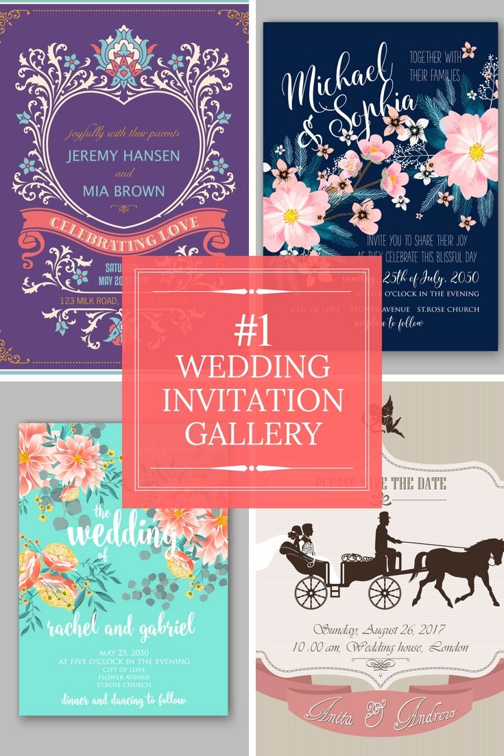 Colorful When Do You Mail Out Wedding Invitations Vignette ...