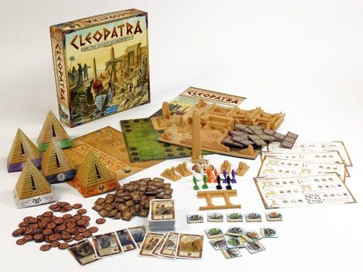 "cleopatra and the society of architects"" is a board gamebruno"