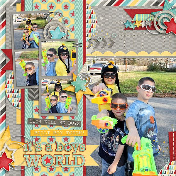 A Boy's World: COLLECTION by Studio Flergs Available at Sweet Shoppe Designs http://www.sweetshoppedesigns.com/sw...653&page=1  Half Pac...