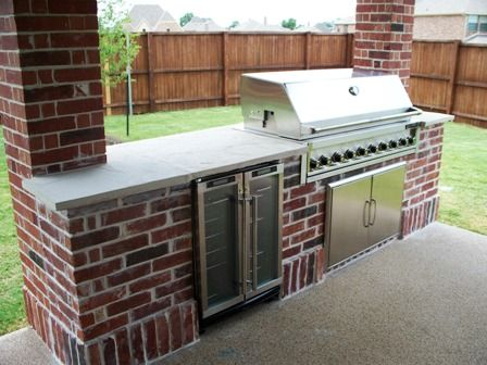 Outdoor Brick Kitchen Designs | Kitchen Design Ideas