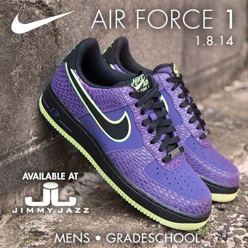 Air Force 1 TD 'Court Purple Volt