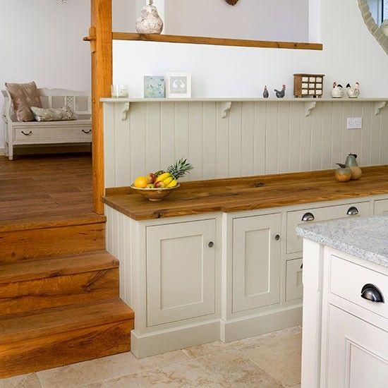 shaker style kitchen with oak worktop kitchen decorating beautiful kitchens. Black Bedroom Furniture Sets. Home Design Ideas