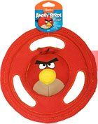 8 97 12 59 Hartz Angry Birds Tuff Stuff Flyer Dog Toy Officially Licensed By Rovio Based On The 1 Mobile Game In T Dog Toys Dog Chew Toys Dog Diapers