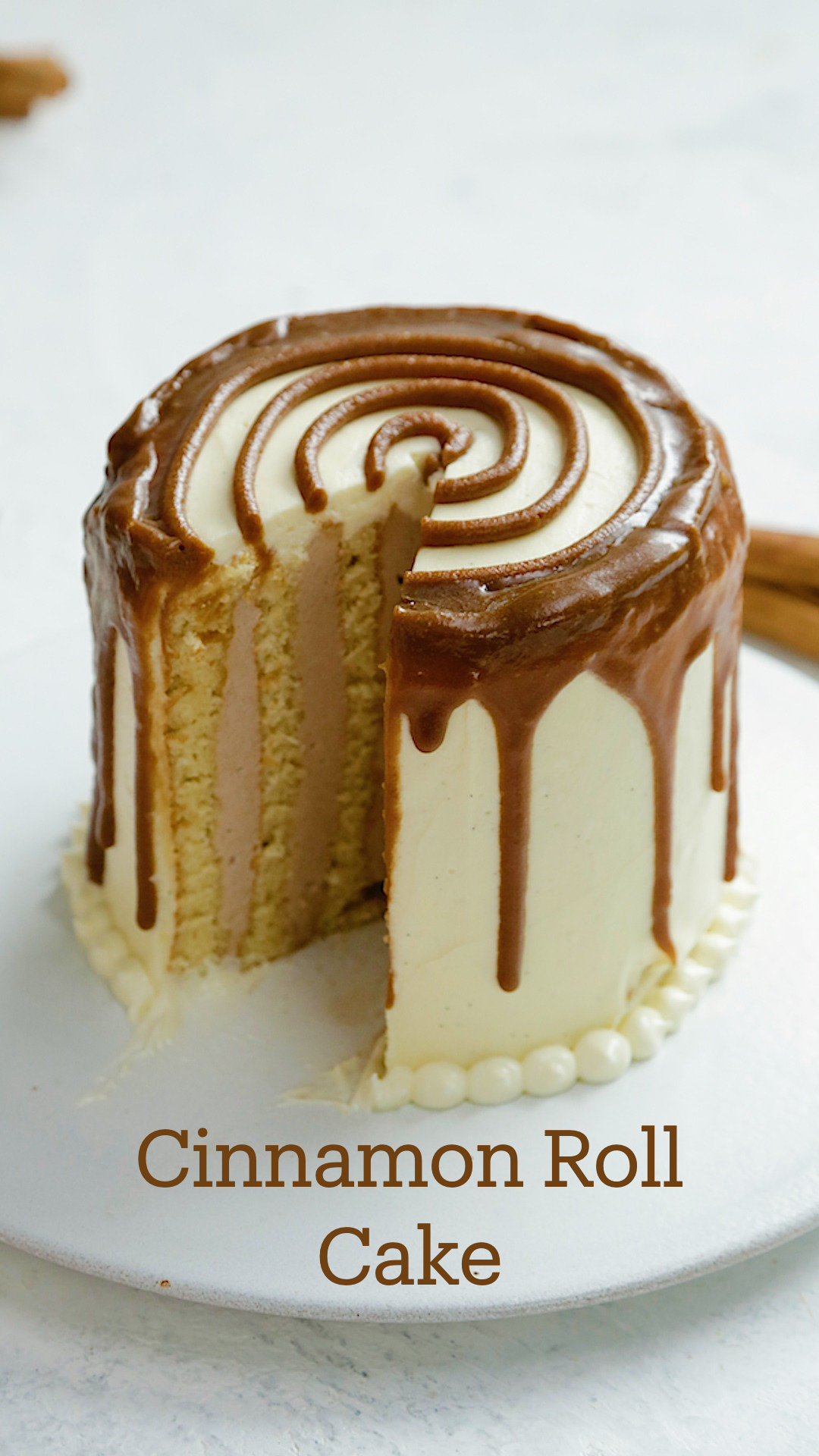 Photo of Cinnamon Roll Cake