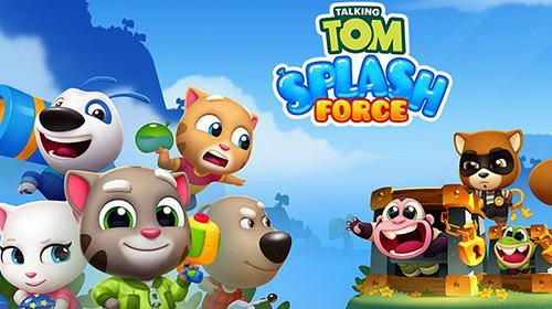 Download Free Android Game Talking Tom Splash Force Free