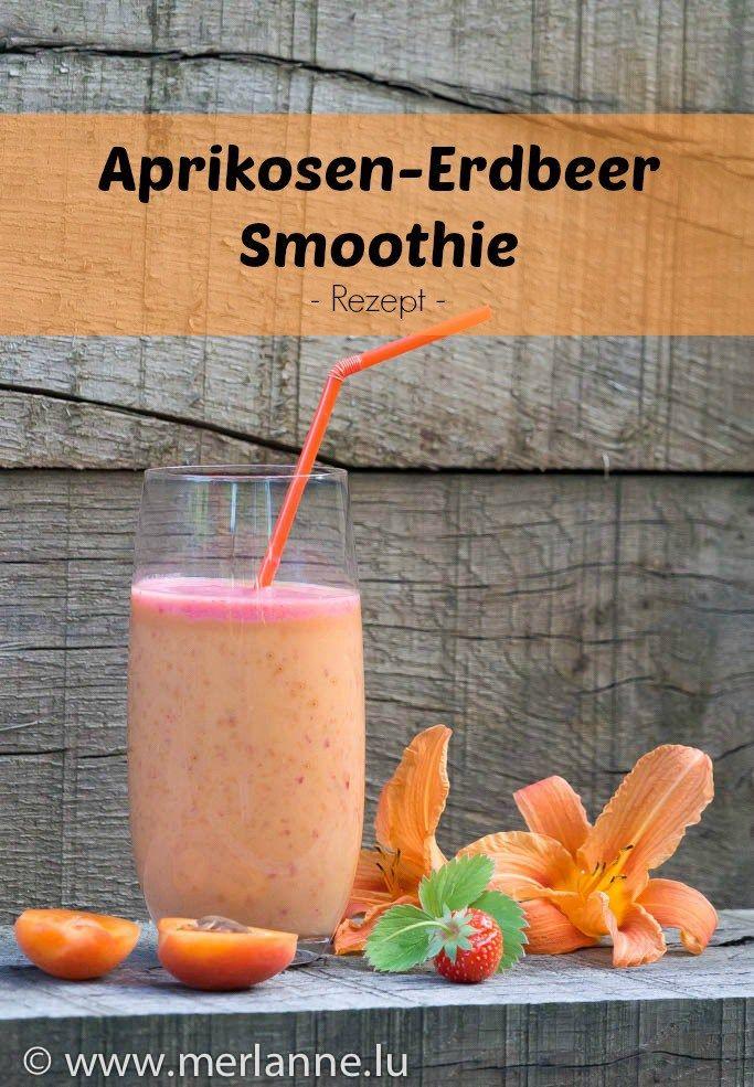 Aprikosen-Erbeer-Smoothie / abricot-strawberry-smoothie / smoothie abricots fraises