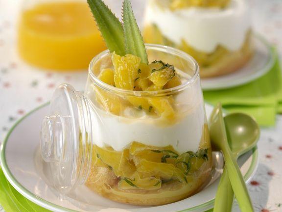 Ananas-Kompott mit Frischkäse ist ein Rezept mit frischen Zutaten aus der Kategorie Südfrucht. Probieren Sie dieses und weitere Rezepte von EAT SMARTER!