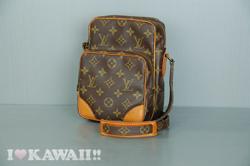 Authentic Louis Vuitton Monogram Amazon Bag Hand Purse Shoulder Free Shipping! #LouisVuitton #ShoulderBag