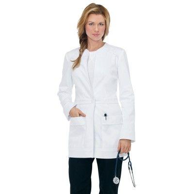 0d73c4fb6f0 Koi Women's Lauren Lab Coat | Nurse Practitioner | Doctor coat ... koi  women's