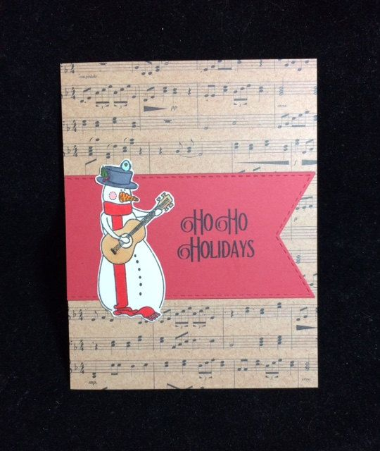 Ho ho holidays snowman greeting card snowman holidays and envelopes ho ho holidays snowman greeting card by grannycatscrafts on etsy bookmarktalkfo Images