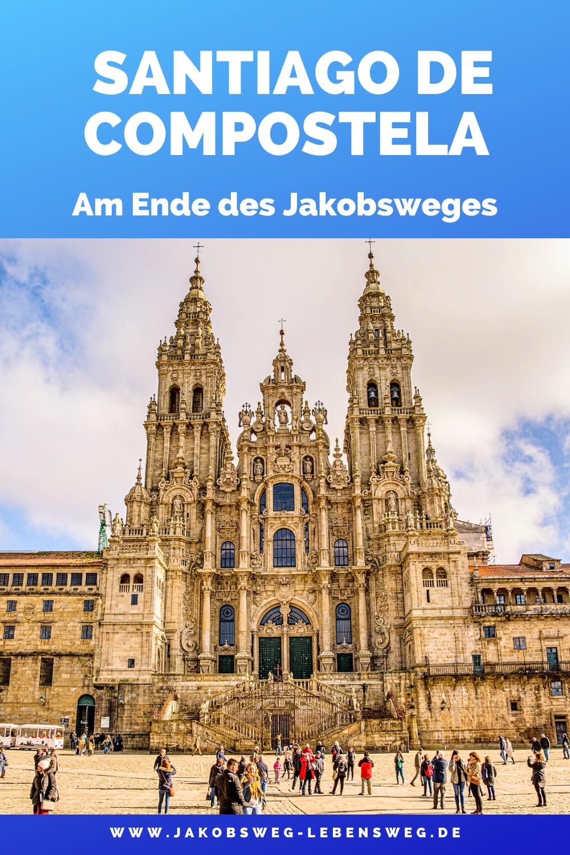 Kathedale Von Santiago De Compostela Jakobsweg Spanien Campen Packliste Pilgerreise