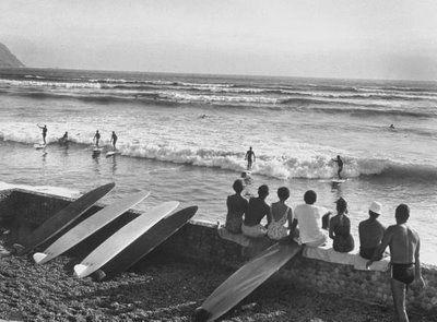 surfing lima peru dec 1959