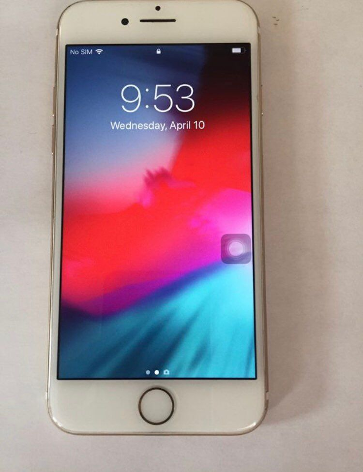 Unlocked iPhone 7 128GB gold Please read whole description