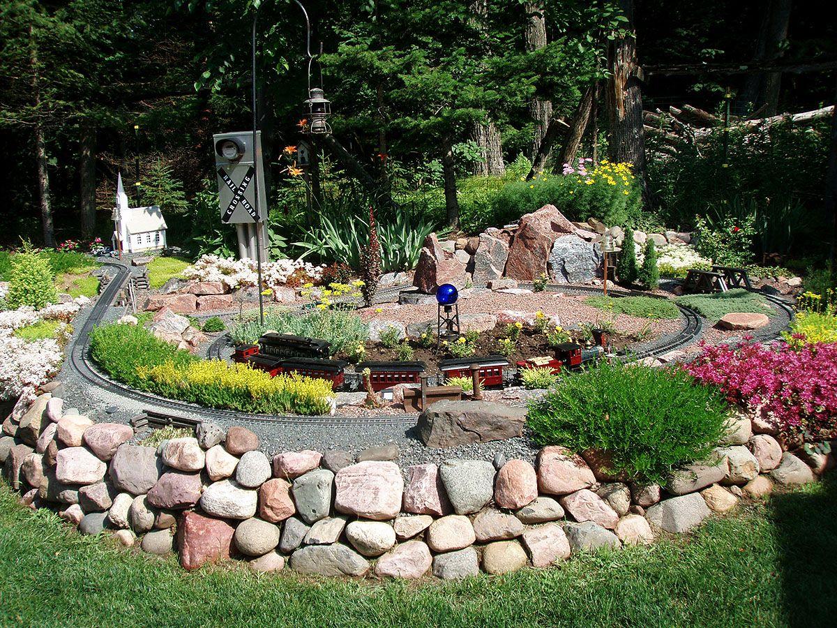 Garden Model Train Layout