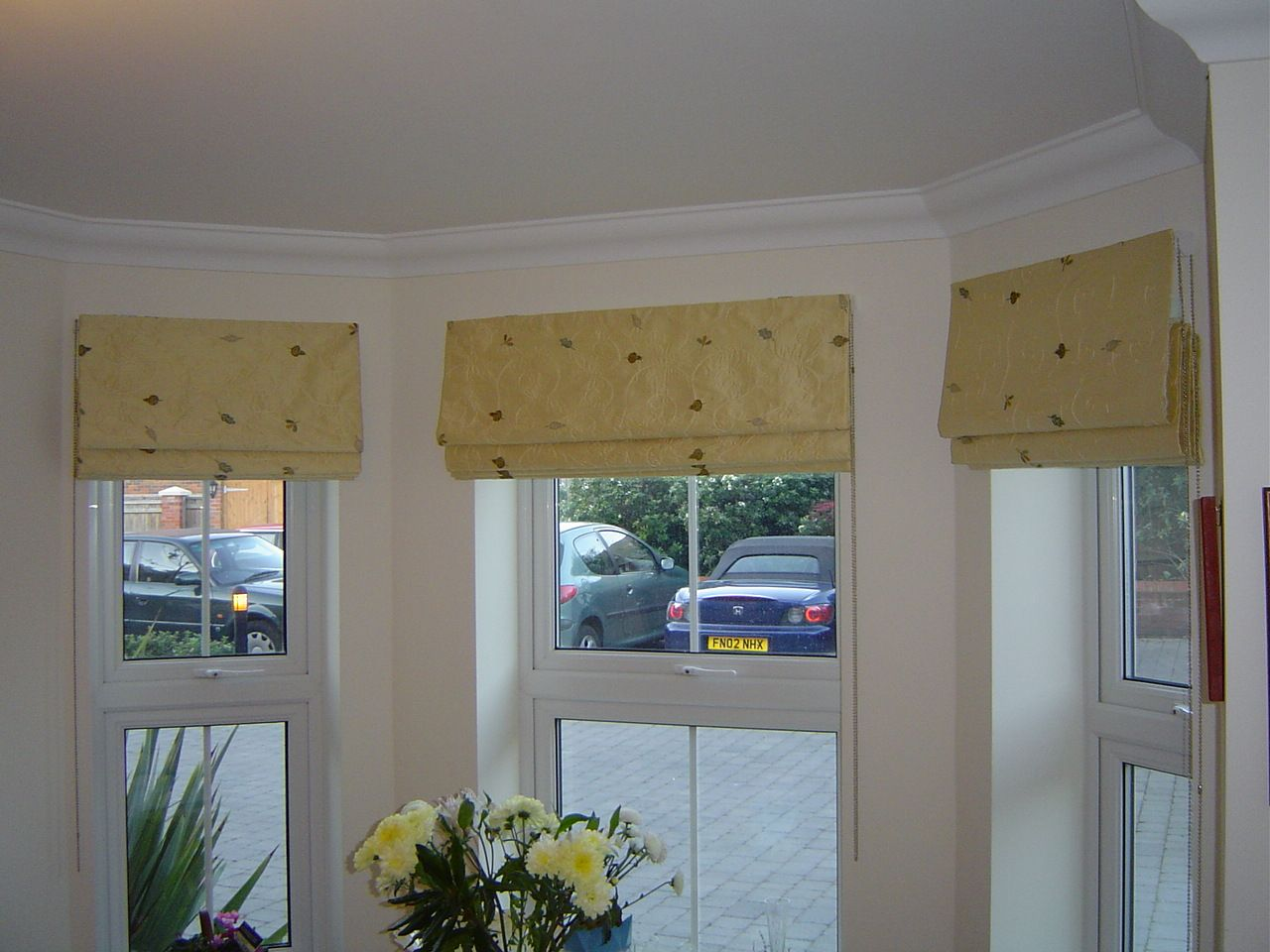 Blinds curtains pinterest window coverings window and bay