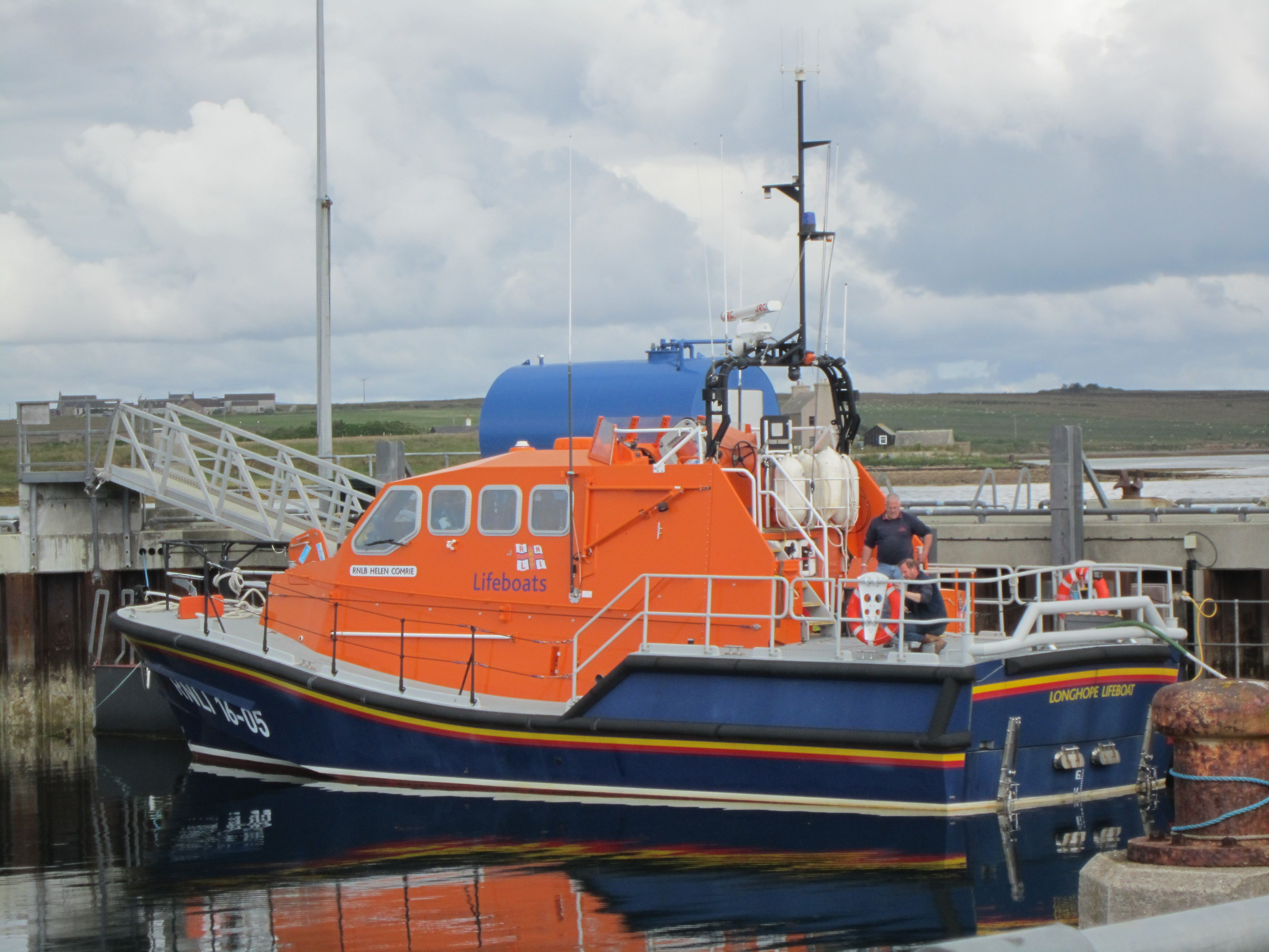 Volunteering is recommended to help build and boost your CV. Meeting a lifeboat crewman brought that into perspective