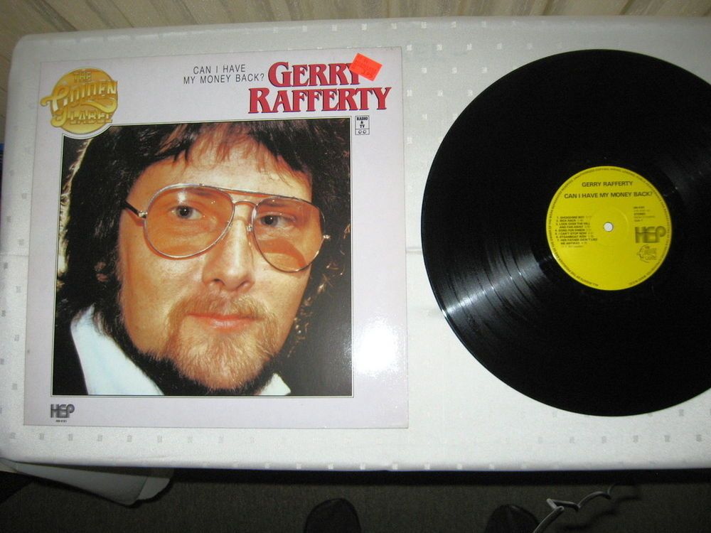 Gerry Rafferty - Can I Have My Money Back? NL 1981 Lp mint