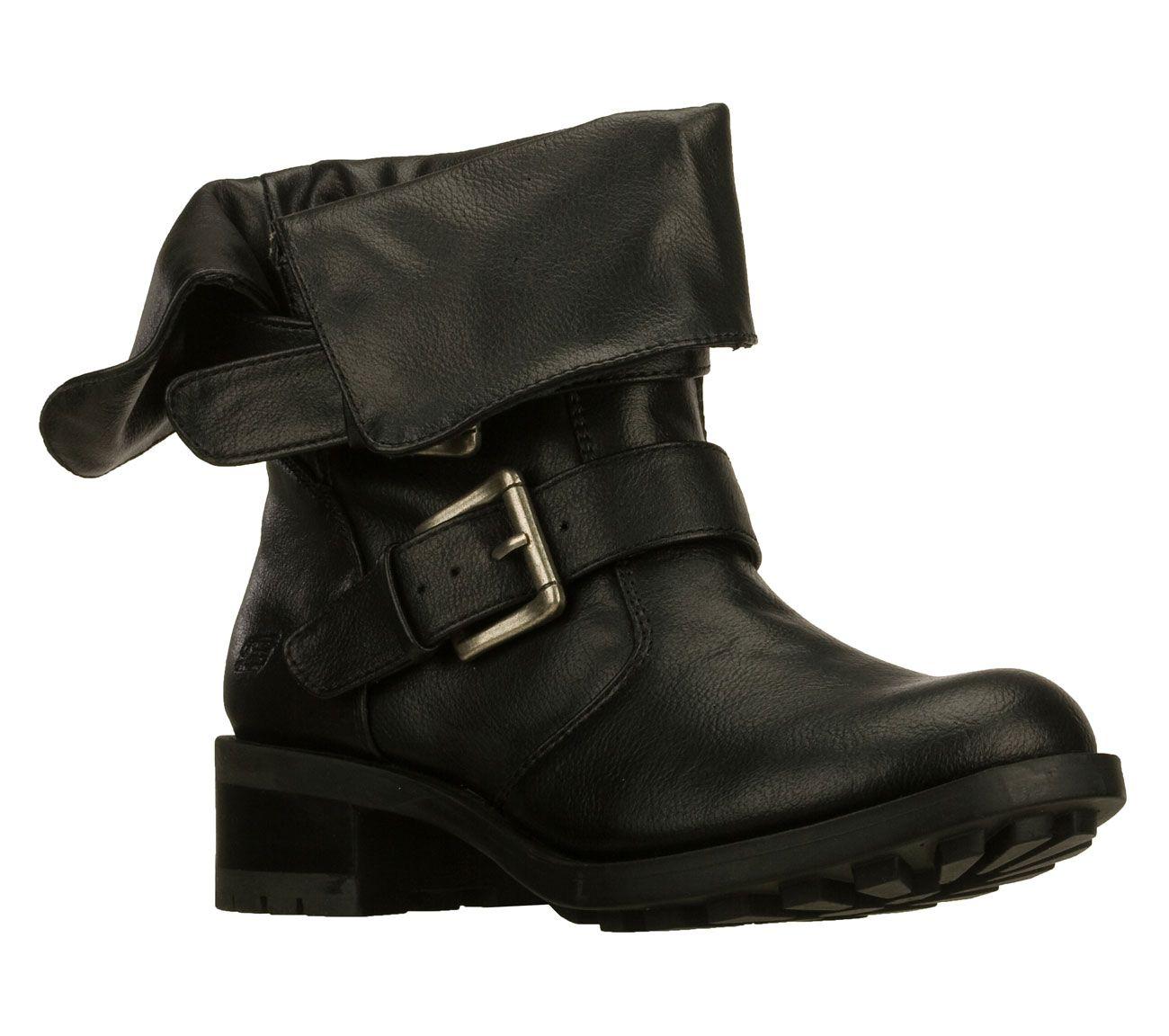 Boots, Black biker boots