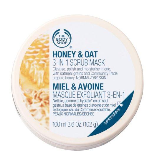 Honey & Oat 3-in-1 Scrub Mask